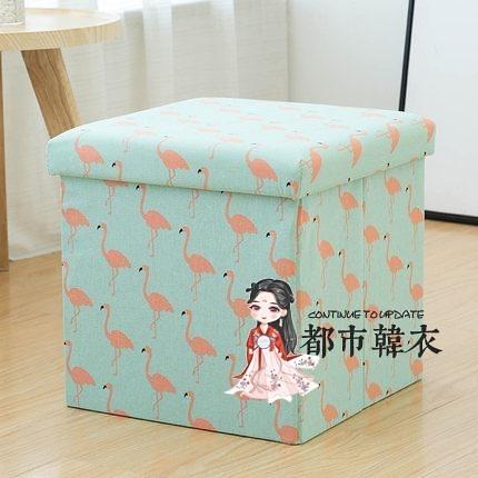 儲物凳 多功能收納凳子可坐成人 折疊椅子家用沙發換鞋凳整理盒箱