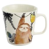 【日本製】毛茸茸樂園系列 瓷器馬克杯  樹懶圖案 SD-6940 - 日本製