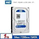 WD WD10EZEX Blue 1TB 3.5吋SATA硬碟