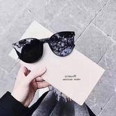 藍色大海的傳說全智賢同款眼鏡墨鏡女潮正韓女明星圓臉偏光太陽鏡