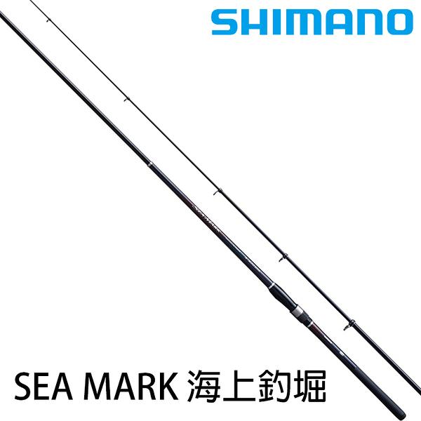 漁拓釣具 SHIMANO 19 SEA MARK 海上釣堀 3號-3.6m [磯釣竿]