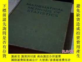 二手書博民逛書店罕見統計數學方法-英文版18875 出版1946