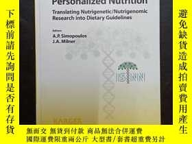 二手書博民逛書店Personalized罕見Nutrition: Transla