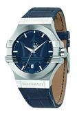 ★MASERATI WATCH★-瑪莎拉蒂手錶-石英藍白款-R8851108015錶現精品公司-原廠正貨-