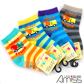 (4雙入)Amiss【多款式】可愛止滑童襪1-3歲/6-9歲
