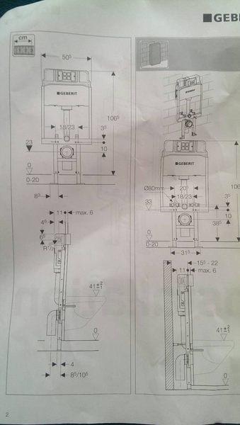 【麗室衛浴】瑞士 GEBERIT 輕隔間用隱蔽式水箱+雙沖水面板含GEBERIT 131.147.11.1懸掛馬桶
