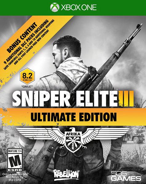 X1 Sniper Elite III Ultimate Edition 狙擊之神 3 終極版(美版代購)