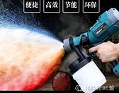 噴槍電動噴漆槍噴漆機家用家具油漆工具乳膠漆噴涂機高霧化YJT 【全館免運】
