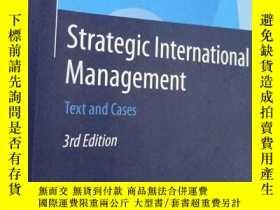 二手書博民逛書店罕見Strategic international manage