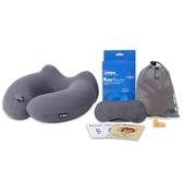 商旅寶U型枕充氣枕脖子午睡枕護頸椎枕頭便攜飛機旅行吹氣U形枕 【萬聖夜來臨】