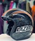 LAZER安全帽,碳纖維復古帽,KAISAR,#1亮面碳纖