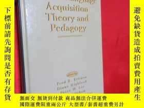 二手書博民逛書店Second罕見Language Acquisition The