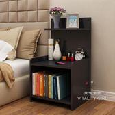 簡易床頭櫃簡約現代床櫃收納小櫃子床邊櫃TW