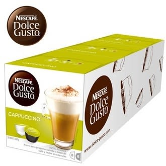 ★限期買五送一(共六盒) 雀巢 新型膠囊咖啡機專用 卡布奇諾咖啡膠囊 料號 12352798
