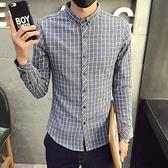 加絨襯衫-休閒低調個性保暖男長袖上衣2色72am13【巴黎精品】