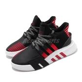 adidas 休閒鞋 EQT Bask ADV 黑 紅 男鞋 運動鞋 【PUMP306】 FW4249