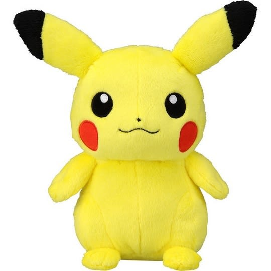 神奇寶貝XY 絨毛皮卡丘EPL_01 (精靈寶可夢 Pokemon GO)
