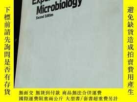 二手書博民逛書店Experiments罕見in MicrobiologyY201