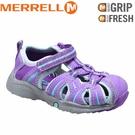 【MERRELL 美國 HYDRO KIDS兒童休閒鞋 紫】ML53377/越野鞋/休閒鞋/登山鞋/運動鞋/健行