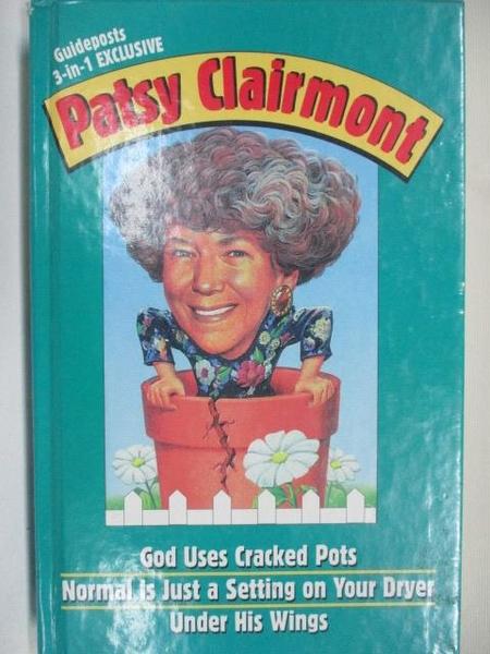 【書寶二手書T1/原文小說_BSZ】God Uses Cracked Pots_Patsy Clairmont