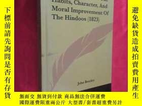 二手書博民逛書店Essays罕見Relative to the Habits, Character and Moral... (小