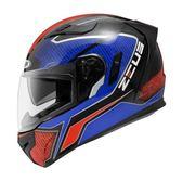 【東門城】ZEUS ZS813  AN12 (黑紅藍) 全罩式安全帽 內藏式鏡片