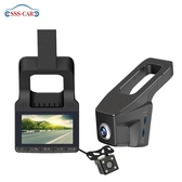 行車記錄儀3寸隱藏式行車記錄儀私模前后雙錄高清夜視行車記錄儀 1080p城市