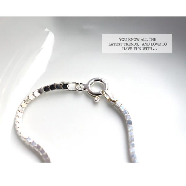 925純銀 歐美個性極簡鎖鍊 手鍊_質物日誌Journal