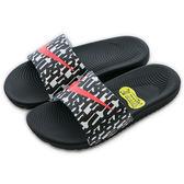 Nike 耐吉 NIKE KAWA SLIDE PRINT (GS/PS)  運動拖鞋 819358007 *女 舒適 運動 休閒 新款 流行 經典