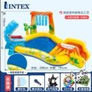 充氣泳池 充氣游泳池家庭大號海洋球池沙池家用寶寶噴水戲水池 VK673