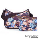 LeSportsac - Standard側背水餃包/流浪包-附化妝包(淺秋) 7520P F335
