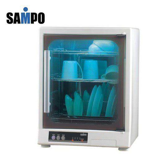 【艾來家電】【刷卡分期零利率+免運費】SAMPO聲寶三層紫外線烘碗機KB-GD65U