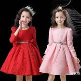 童裝女童秋冬長袖洋裝2018新款秋季韓版大童兒童禮服公主裙洋氣裙子