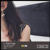 ~大小金屬球杆子耳環~ifairies ~33481 ~