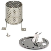 【速捷戶外露營】PETROMAX RADIATOR & PROTECTION PLATE 暖爐套件組 銀 (適用HK500)