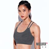 Mollifix 瑪莉菲絲 A++活力雙肩帶舒活BRA (深灰)