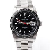 范倫鐵諾.古柏 夜光指針鋼製手錶 柒彩年代【NEV3】
