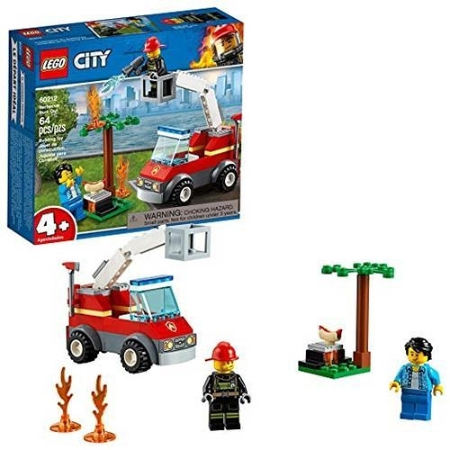 LEGO 樂高 City Barbecue Burn Out 60212 Building Kit (64 Pieces)