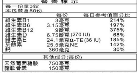 挺立葡萄糖胺加強錠 150錠【德芳保健藥妝】