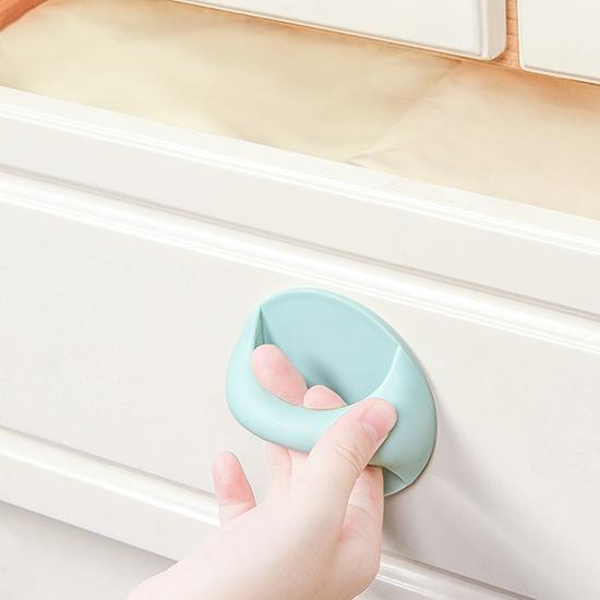 多用途把手 黏貼式門窗 櫥櫃門免打孔 防滑 冰箱 浴室 廁所 老人扶手【H054】米菈生活館