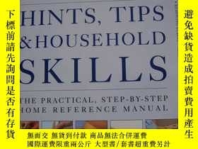 二手書博民逛書店THE罕見ILLUSTRATED HINTS TIPS HOUS