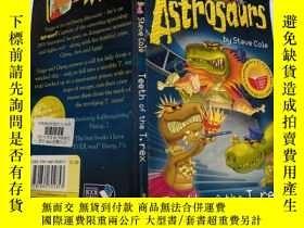 二手書博民逛書店astrosaurs罕見teeth of the T.rex : 霸王龍的牙Y200392