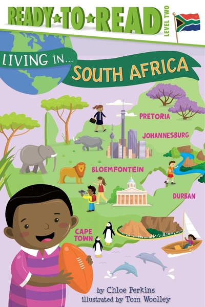 Ready to Read : LIVING IN...SOUTH AFRICA /L2《英文讀本.世界文化.認識城市.南非》