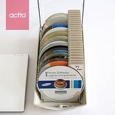CD收納盒 光盤盒創意CD盒包大容量DVD光碟收納盒碟片包盒帶鎖盒子【幸福小屋】