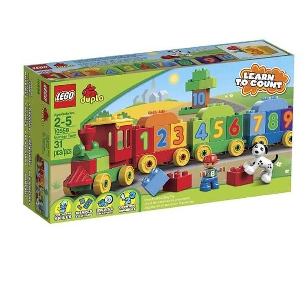 LEGO 樂高 Duplo figure 得寶系列 數字火車組 10558