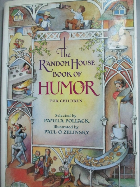 【書寶二手書T9/原文書_YFY】The Random House Book of Humor for Children