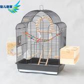 鳥籠 玄鳳虎皮鸚鵡籠子豪華大型鳥籠 八哥籠大號金屬牡丹鷯哥繁殖籠A25 MKS免運
