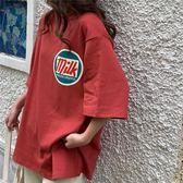 港風短袖T恤女2019新款夏裝學生韓版寬鬆百搭潮Ins很仙的上衣洋氣Qm 莉卡嚴選