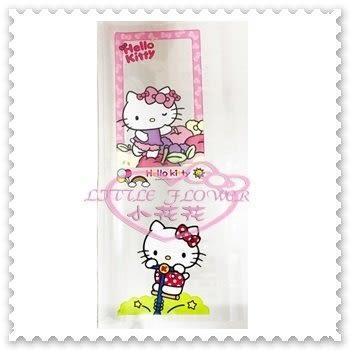 ♥小花花日本精品♥ Hello Kitty 環保書套 蘋果趴姿 腳踏車 國小通用 國中適用 62022200