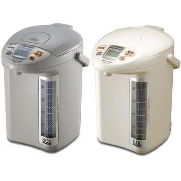 【象印ZOJIRUSH】5L微電腦電動熱水瓶(灰) CD-LGF50